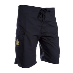 INI Scuttlebutt Board Short - Black