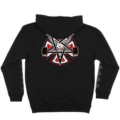 Independent x Thrasher Pentagram Cross Hoodie - Black