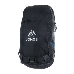Jones Deeper 18L Backpack 2018 - Black Topo