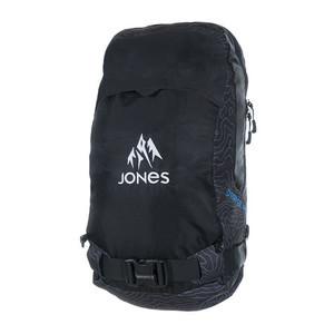 Jones Deeper 18L Backpack 2018 - Black Topo