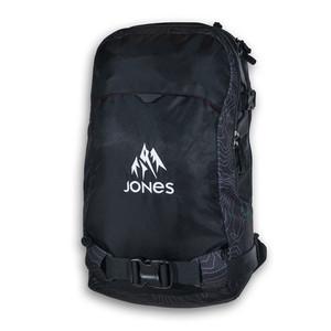 Jones Further 24L Backpack 2018 - Black Topo