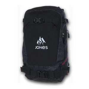 Jones Higher 30L Backpack 2018 - Black Topo
