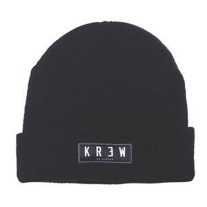 Kr3w Cuff Beanie - Black