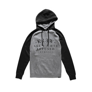 Kr3w Refused Hoodie — Heather/Black