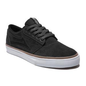 Lakai Griffin Skate Shoe — Black Suede
