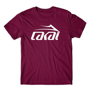 Lakai Basic T-Shirt - Burgundy