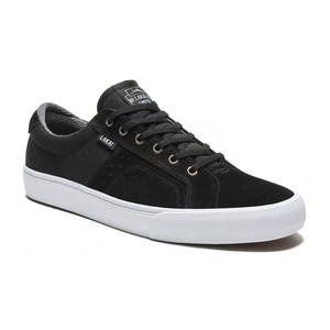 Lakai Flaco Skate Shoe - Black/Grey