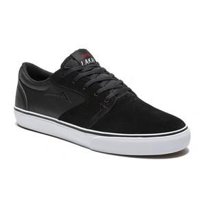 Lakai Fura Skate Shoe - Black Suede