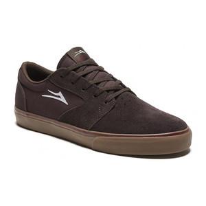 Lakai Fura Skate Shoe - Brown/Gum Suede