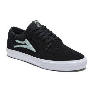 Lakai Griffin Skate Shoe - Black/Mint