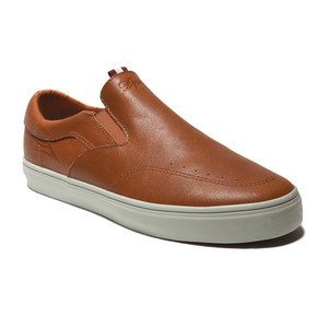 Lakai Owen Skate Shoe - Golden Brown Leather