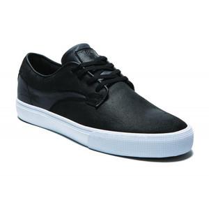 Lakai Hawk Skate Shoe - Black Oiled Suede