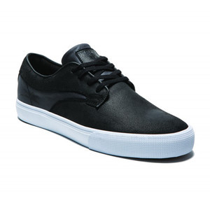 Lakai Hawk Skate Shoe - Black Oiled Suede