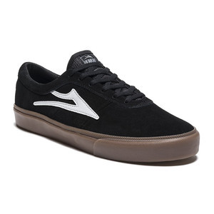 Lakai Sheffield Skate Shoe - Black/White
