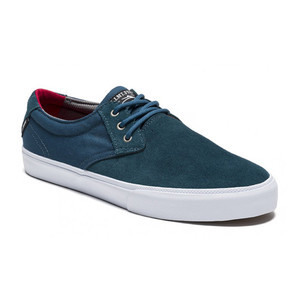 Lakai Marc Johnson Skate Shoe — Ink Blue Suede