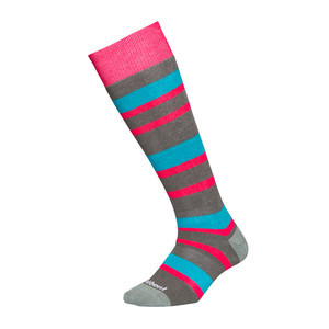 Le Bent Alpha Women's Snowboard Socks - Stripes
