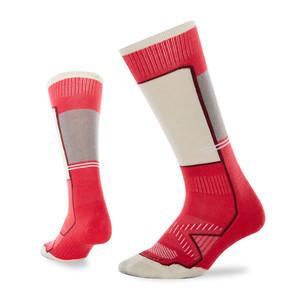 Le Bent Little Feet Youth Snowboard Socks - Azalea