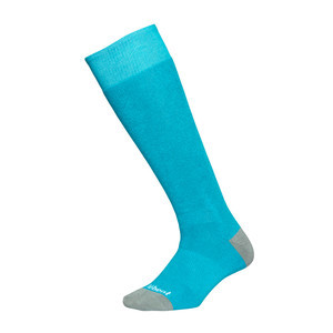 Le Bent Alpha Snowboard Socks - Teal/Grey