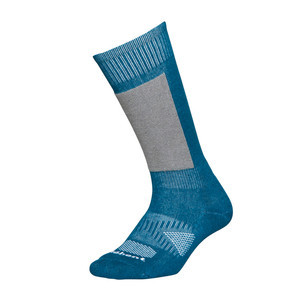 Le Bent Definitive Youth Snowboard Socks - Blue