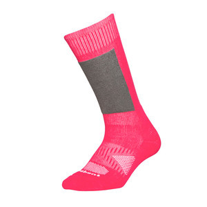 Le Bent Definitive Youth Snowboard Socks - Pink