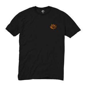 Magenta Classic Plant T-Shirt - Black