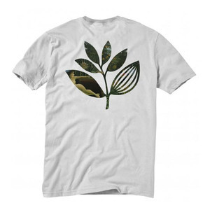 Magenta Jungle T-Shirt - White