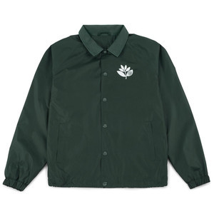 Magenta Windbreaker Jacket - Forest Green