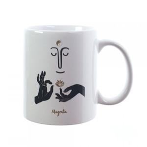 Magenta Zen Coffee Mug
