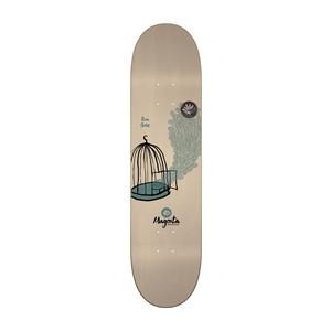 """Magenta Gore Birdcage 8.0"""" Skateboard Deck"""