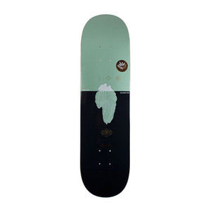 "Magenta Iceberg 8.0"" Skateboard Deck"