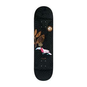 "Magenta Toucan 8.0"" Skateboard Deck - Black"