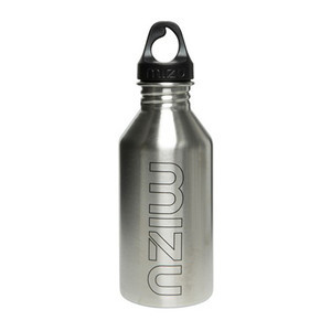 Mizu M6 Water Bottle - Stainless/Black