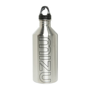 Mizu M12 Water Bottle — Stainless/Black