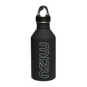 Mizu M6 Water Bottle - Black/White