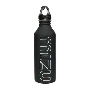 Mizu M8 Water Bottle - Black/White