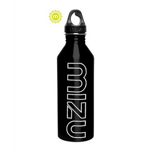 Mizu M8 Water Bottle - Gloss Black - Glow in the dark