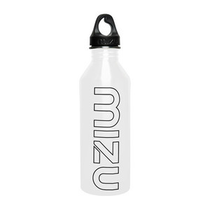 Mizu M8 Water Bottle - Gloss White/Black