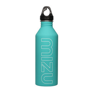 Mizu M8 Water Bottle - Mint/White