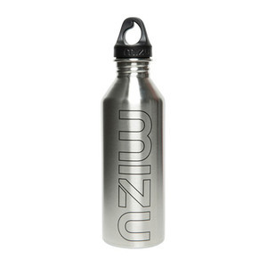 Mizu M8 Water Bottle - Stainless/Black