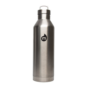 Mizu V8 Insulated Water Bottle - Stainless/Black