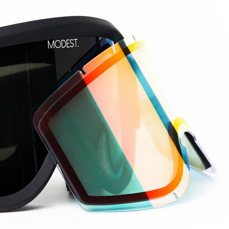 Modest. Team Snowboard Goggle 2018 - Throwback