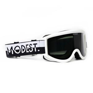 Modest. Team Snowboard Goggle 2018 - Black & White