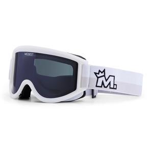Modest. Team Snowboard Goggle 2019 - White / Grey
