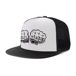 Modus Fists Trucker Hat — Black/White