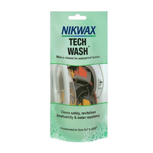 Nikwax Waterproofing Tech Wash Sachet 100ml