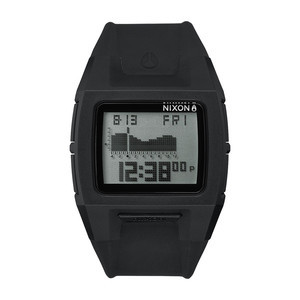 Nixon Lodown Silicone Watch - Black