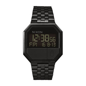 Nixon Re-Run Watch - All Black