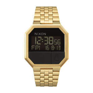 Nixon Re-Run Watch - All Gold