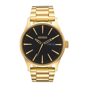 Nixon Sentry SS Watch - All Gold/Black