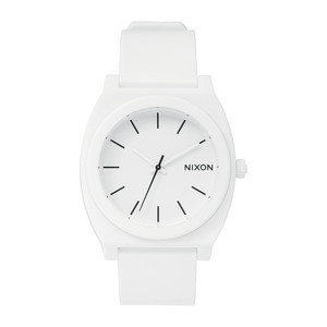 Nixon Time Teller P Watch - Matte White